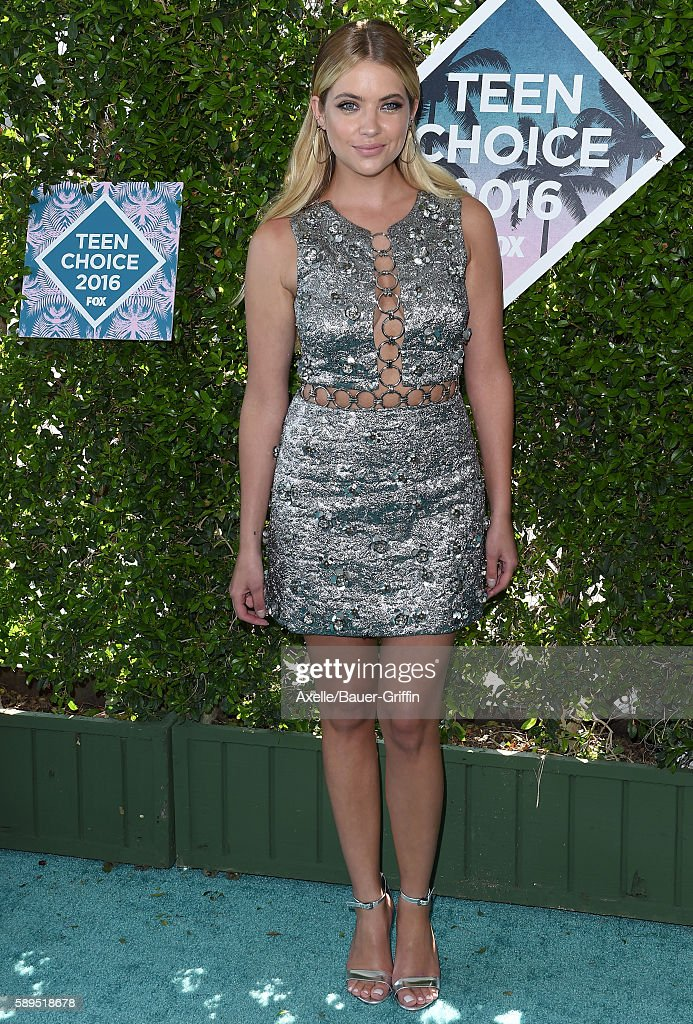 Actress Ashley Benson arrives at the Teen Choice Awards 2016 at The Forum on July 31 2016 in Inglewood California