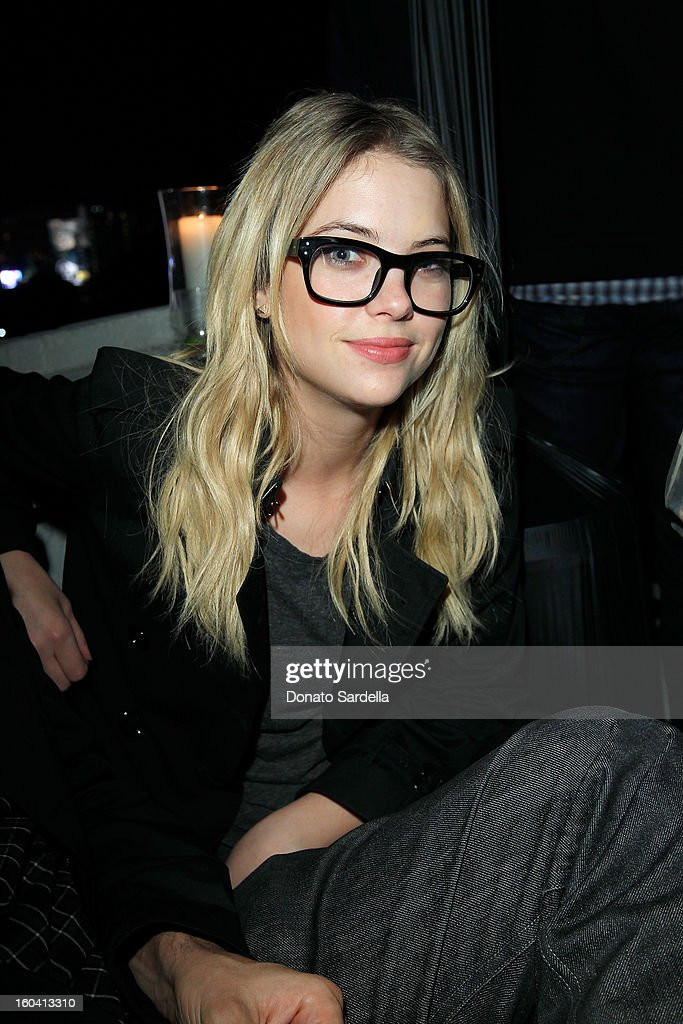 Actress Ashley Benson attends Hoorsenbuhs for Forevermark Collection cocktail party at Chateau Marmont on January 30, 2013 in Los Angeles, California.