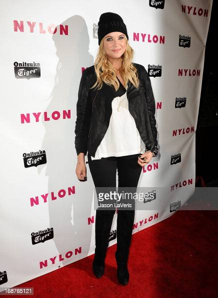 Actress Ashley Benson attends Nylon Magazine's Young Hollywood issue event at The Roosevelt Hotel on May 14 2013 in Hollywood California