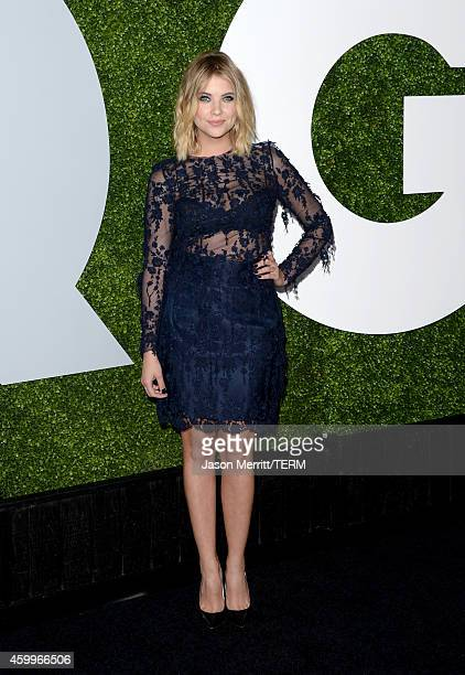 Actress Ashley Benson attends the 2014 GQ Men Of The Year party at Chateau Marmont on December 4 2014 in Los Angeles California
