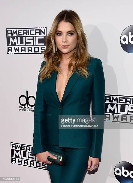 Actress Ashley Benson attends the 2015 American Music Awards at Microsoft Theater on November 22 2015 in Los Angeles California