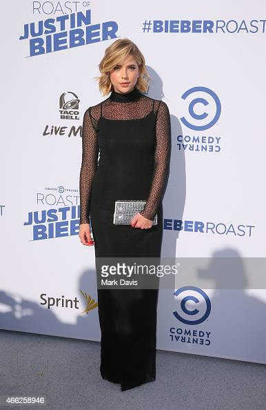 Actress Ashley Benson attends The Comedy Central Roast of Justin Bieber at Sony Pictures Studios on March 14 2015 in Los Angeles California