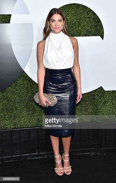 Actress Ashley Benson attends the GQ 20th Anniversary Men Of The Year Party at Chateau Marmont on December 3 2015 in Los Angeles California