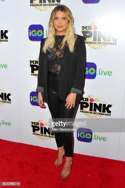Actress Ashley Benson attends the iGolive Launch Event at the Beverly Wilshire Four Seasons Hotel on July 26 2017 in Beverly Hills California