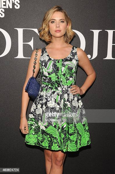 Actress Ashley Benson attends the Miu Miu Women's Tales 9th Edition 'De Djess' screening on February 18 2015 in New York City