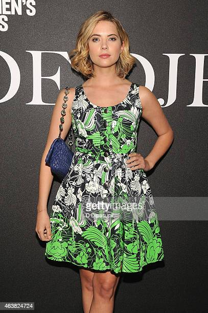 Actress Ashley Benson attends the Miu Miu Women's Tales 9th Edition 'De Djess' screening on February 18 2015 in New York City