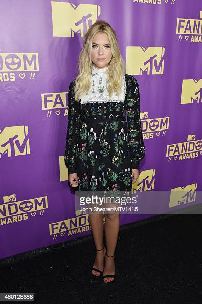 Actress Ashley Benson attends the MTV Fandom Awards San Diego at PETCO Park on July 9 2015 in San Diego California