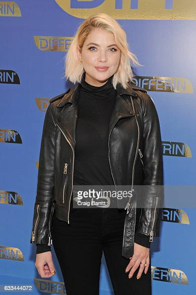 Actress Ashley Benson attends the national launch of Differin Gel with Ashley Benson at Nestle SHIELD Center on February 1 2017 in New York City