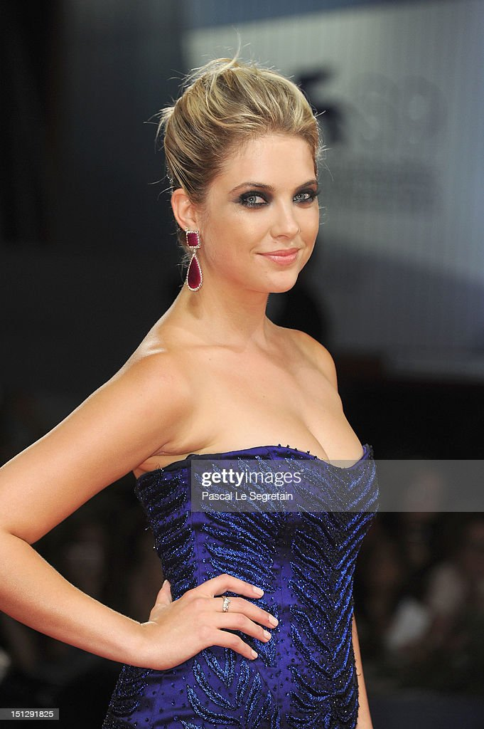 Actress Ashley Benson attends the 'Spring Breakers' Premiere during The 69th Venice Film Festival at the Palazzo del Cinema on September 5, 2012 in Venice, Italy.