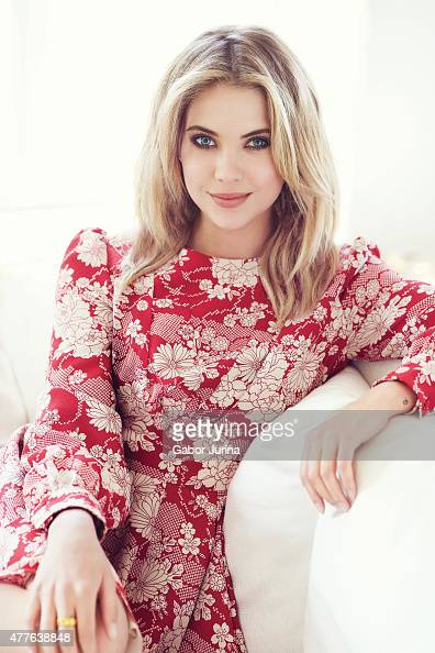 Actress Ashley Benson is photographed for Fashion Magazine on April 13 2015 in Los Angeles California Published Image ON DOMESTIC EMBARGO UNTIL...