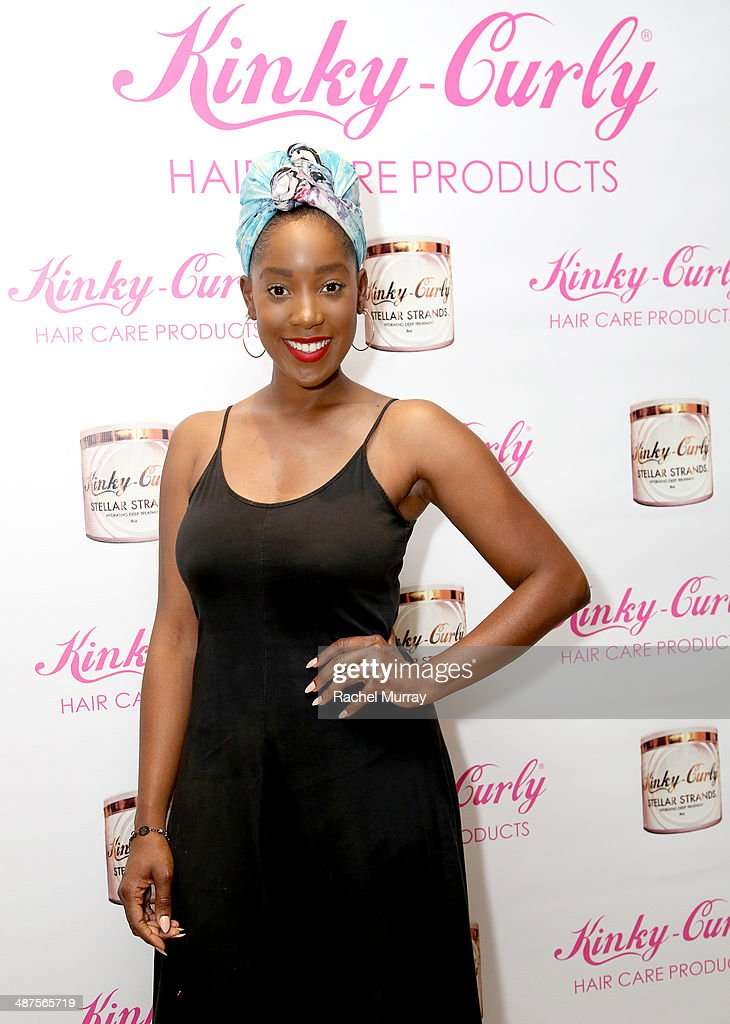 Actress Ashley Blaine Featherson attends the Kinky-Curly 'Sneak Peek' event at the Four Seasons Hotel Los Angeles on April 30, 2014 in Beverly Hills, California.