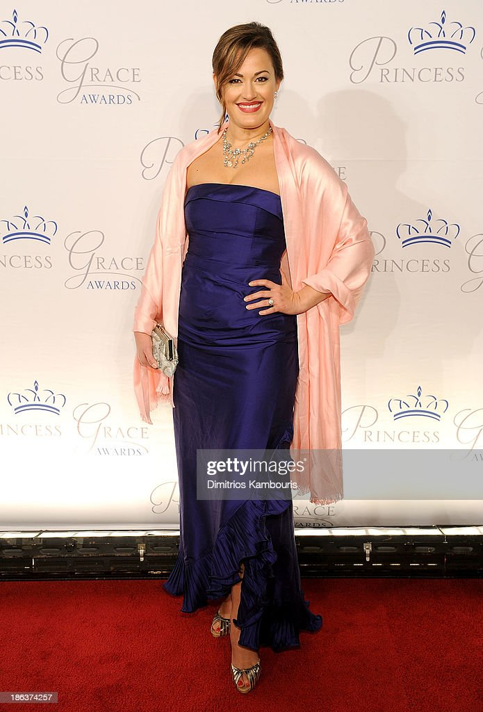 Actress Ashley Brown attends the 2013 Princess Grace Awards Gala at Cipriani 42nd Street on October 30, 2013 in New York City.