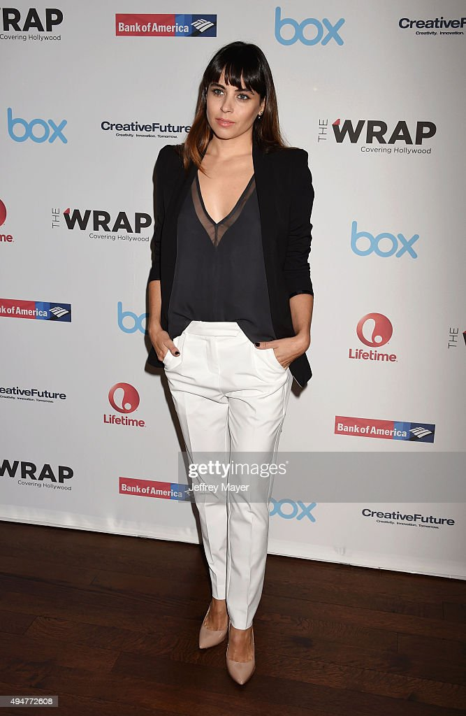 Actress Ashley C Williams arrives at the TheWrap's Power Women Breakfast at Ocean Prime restaurant on October 28 2015 in Beverly Hills California
