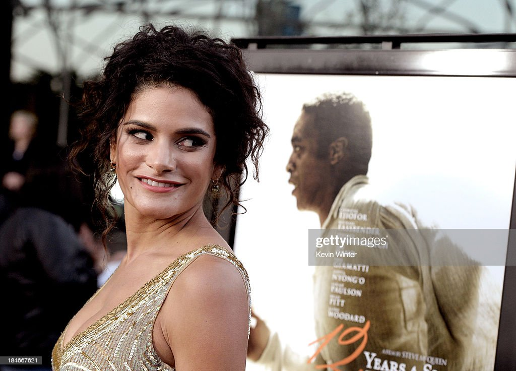 Actress Ashley Dyke arrives at the premiere of Fox Searchlights' '12 Years A Slave' at the Directors Guild on October 14, 2013 in Los Angeles, California.