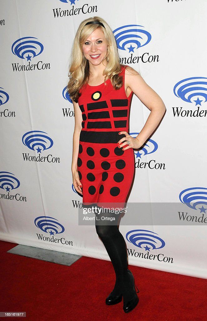 Actress Ashley Eckstein participates in WonderCon Anaheim 2013 - Day 3 held at Anaheim Convention Center on March 31, 2013 in Anaheim, California.