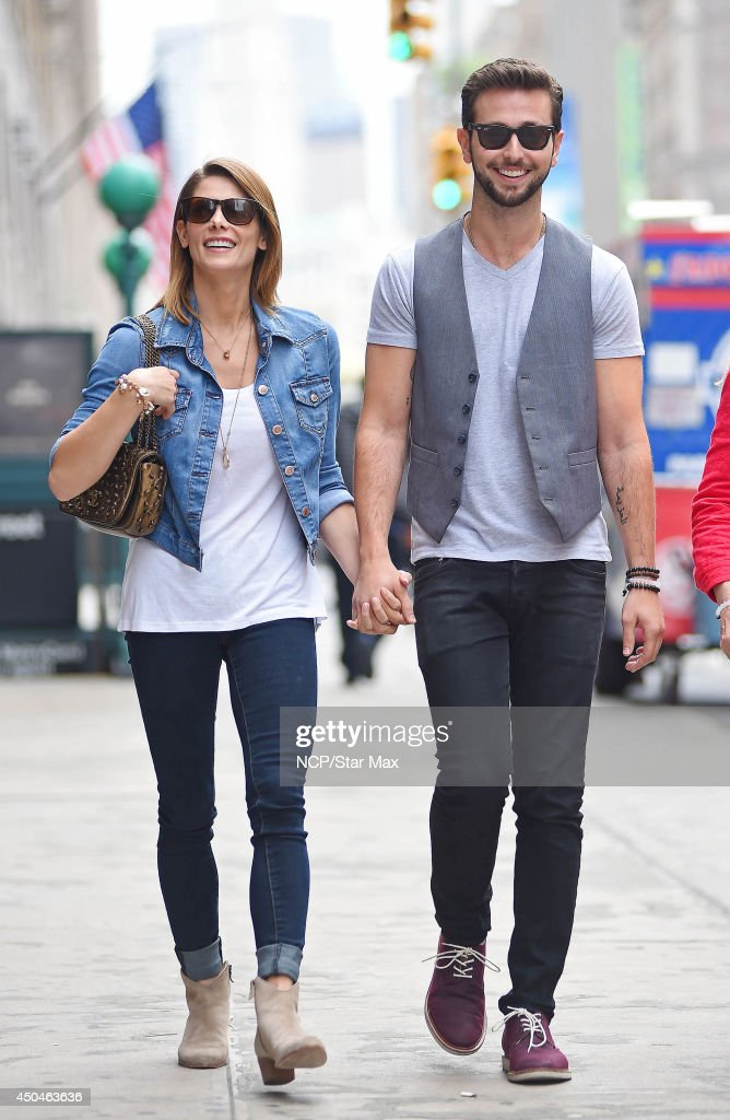 Actress <a gi-track='captionPersonalityLinkClicked' href=/galleries/search?phrase=Ashley+Greene&family=editorial&specificpeople=781552 ng-click='$event.stopPropagation()'>Ashley Greene</a> and Paul Khoury are seen on June 11, 2014 in New York City.