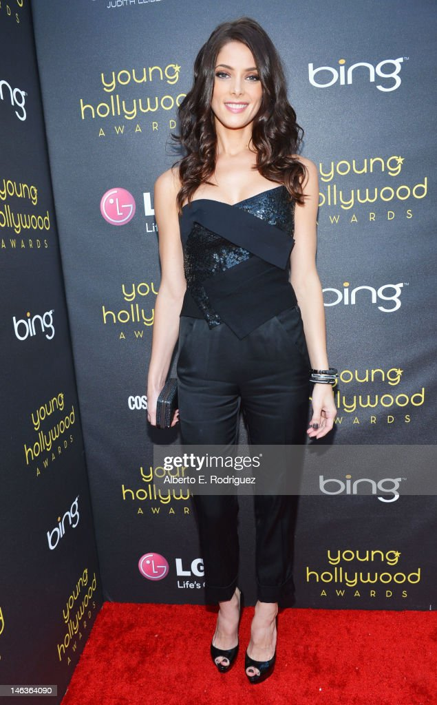 Actress <a gi-track='captionPersonalityLinkClicked' href=/galleries/search?phrase=Ashley+Greene&family=editorial&specificpeople=781552 ng-click='$event.stopPropagation()'>Ashley Greene</a> arrives at 14th Annual Young Hollywood Awards presented by Bing at Hollywood Athletic Club on June 14, 2012 in Hollywood, California.