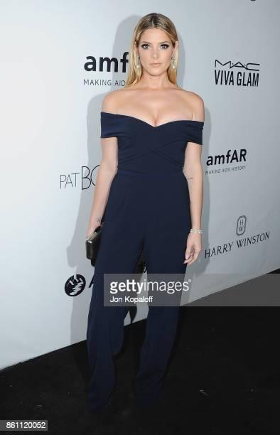 Actress Ashley Greene arrives at amfAR Los Angeles 2017 at Ron Burkleâs Green Acres Estate on October 13 2017 in Beverly Hills Californi