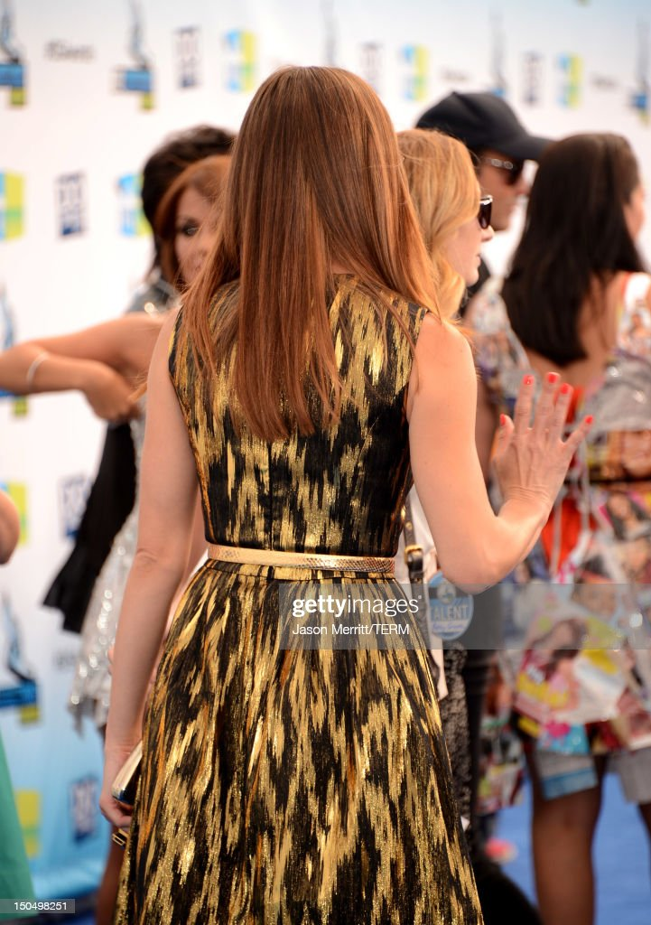 Actress Ashley Greene arrives at the 2012 Do Something Awards at Barker Hangar on August 19, 2012 in Santa Monica, California.