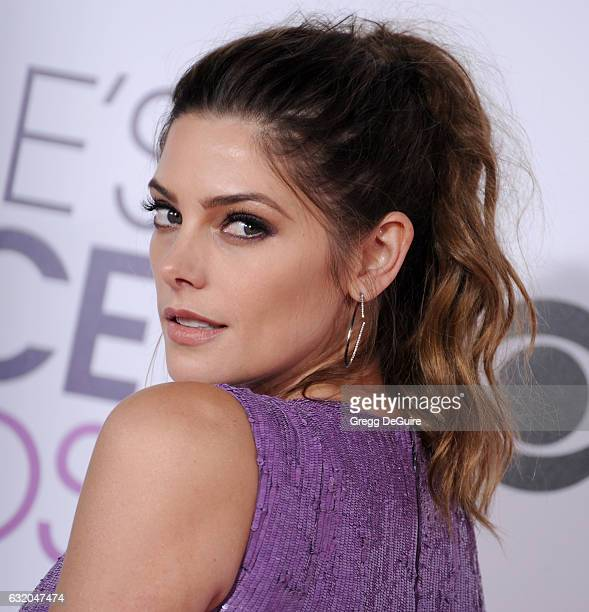 Actress Ashley Greene arrives at the 2017 People's Choice Awards at Microsoft Theater on January 18 2017 in Los Angeles California