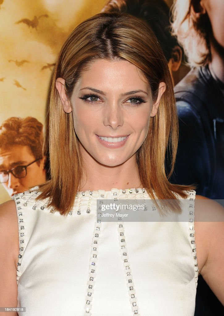 Actress Ashley Greene arrives at the Los Angeles premiere of 'The Mortal Instruments City Of Bones' at ArcLight Cinemas Cinerama Dome on August 12...