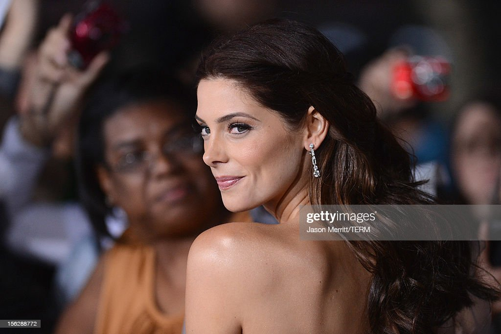 Actress Ashley Greene arrives at the premiere of Summit Entertainment's 'The Twilight Saga: Breaking Dawn - Part 2' at Nokia Theatre L.A. Live on November 12, 2012 in Los Angeles, California.