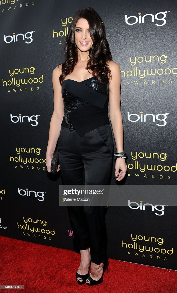 Actress <a gi-track='captionPersonalityLinkClicked' href=/galleries/search?phrase=Ashley+Greene&family=editorial&specificpeople=781552 ng-click='$event.stopPropagation()'>Ashley Greene</a> arrives at the Young Hollywood Awards at Hollywood Athletic Club on June 14, 2012 in Hollywood, California.