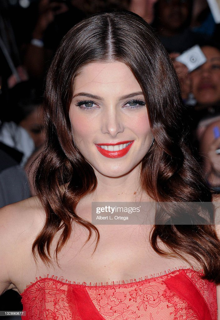 Actress Ashley Greene arrives for Summit Entertainment's 'The Twilight Saga: Breaking Dawn - Part 1' held at Nokia Theatre L.A. Live on November 14, 2011 in Los Angeles, California.