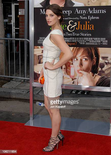 Actress Ashley Greene arrives to the Los Angeles Premiere 'Julie Julia' at Mann Village Theatre on July 27 2009 in Westwood Los Angeles California