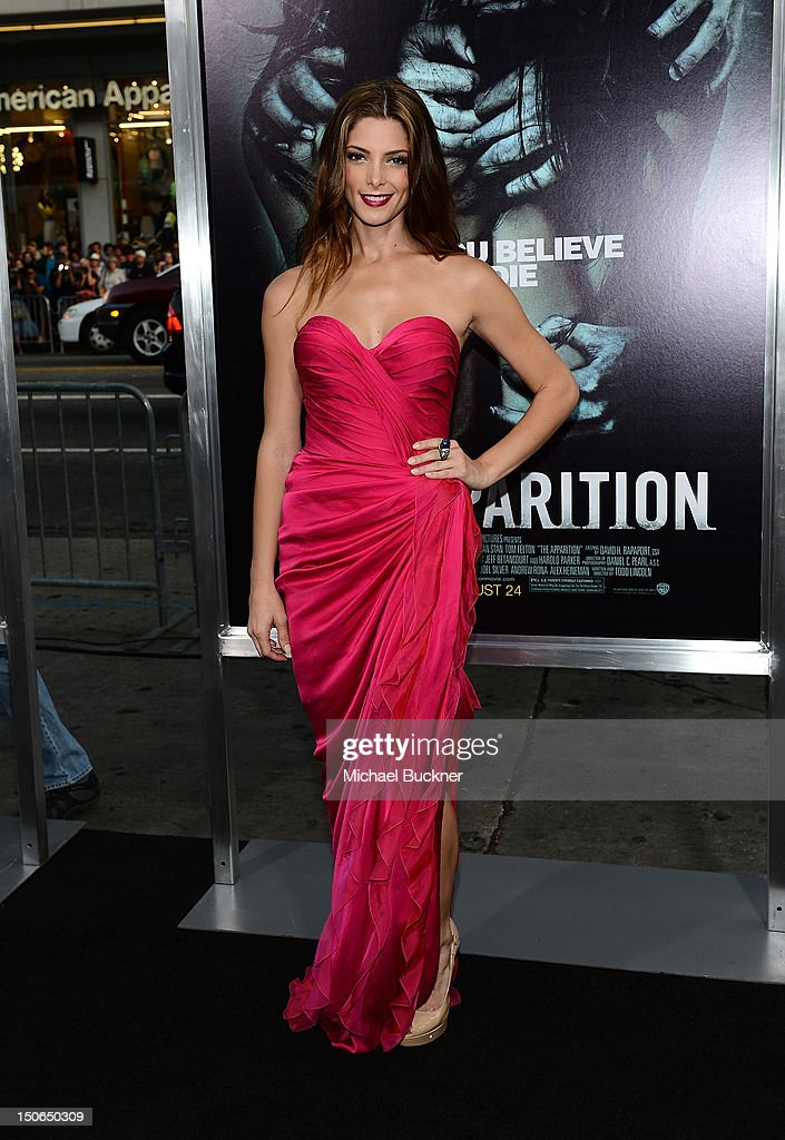 Actress Ashley Greene arrives to the premiere of Warner Bros. Pictures' 'The Apparition' at Grauman's Chinese Theatre on August 23, 2012 in Hollywood, California.