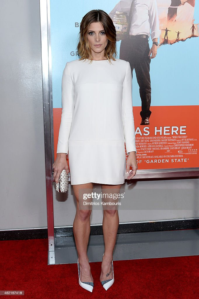 Actress Ashley Greene attend the 'Wish I Was Here' screening at AMC Lincoln Square Theater on July 14 2014 in New York City