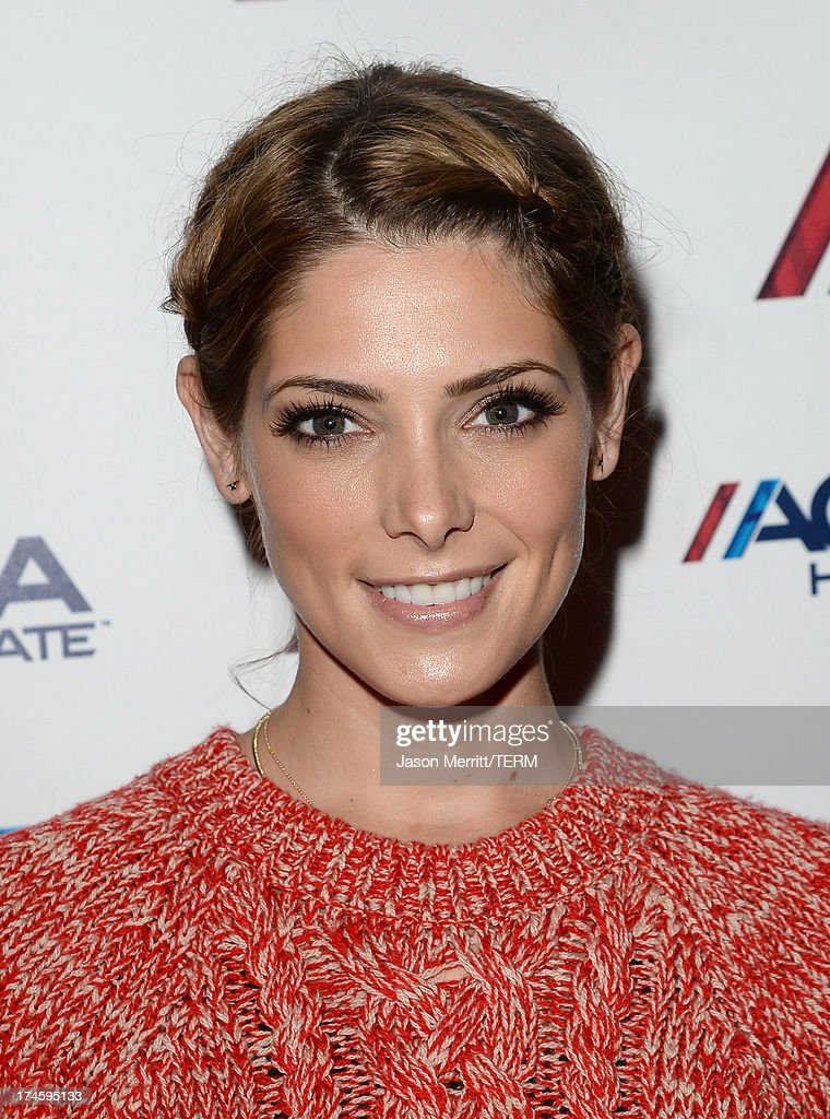 Actress <a gi-track='captionPersonalityLinkClicked' href=/galleries/search?phrase=Ashley+Greene&family=editorial&specificpeople=781552 ng-click='$event.stopPropagation()'>Ashley Greene</a> attends a private event at Hyde Lounge for the Bruno Mars & Ellie Goulding concert hosted by AQUAhydrate at The Staples Center on July 27, 2013 in Los Angeles, California.
