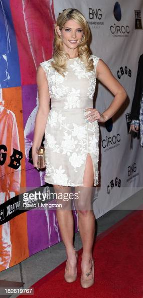 Actress Ashley Greene attends a screening of Xlrator Media's 'CBGB' at ArcLight Cinemas on October 1 2013 in Hollywood California