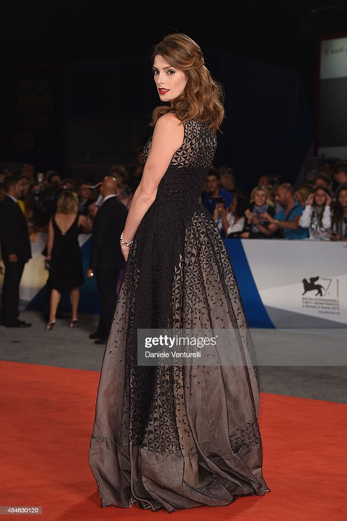 Actress Ashley Greene attends 'Burying The Ex' Premiere during the 71st Venice Film Festival at Sala Grande on September 4 2014 in Venice Italy