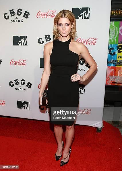 Actress Ashley Greene attends CBGB US Premiere Opening Night CBGB Music and Film Festival 2013 at Landmark Sunshine Cinema on October 8 2013 in New...