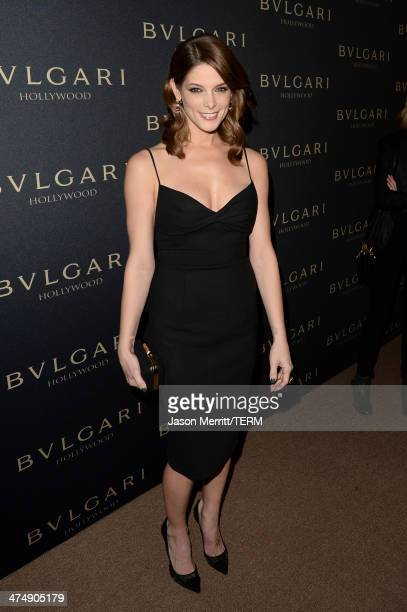 Actress Ashley Greene attends 'Decades of Glamour' presented by BVLGARI on February 25 2014 in West Hollywood California