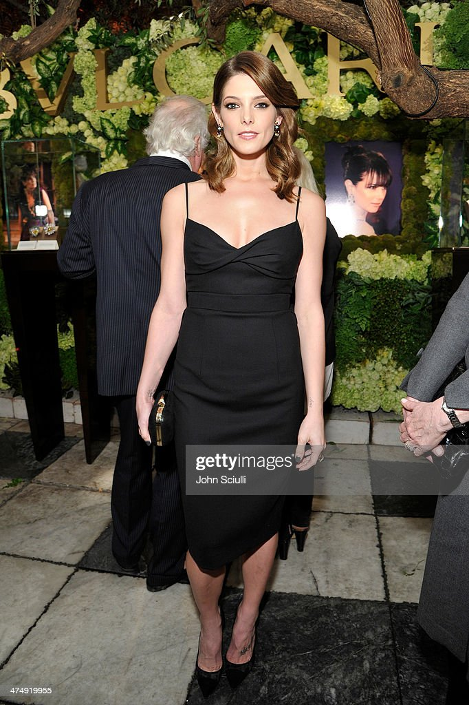 Actress <a gi-track='captionPersonalityLinkClicked' href=/galleries/search?phrase=Ashley+Greene&family=editorial&specificpeople=781552 ng-click='$event.stopPropagation()'>Ashley Greene</a> attends 'Decades of Glamour' presented by BVLGARI on February 25, 2014 in West Hollywood, California.