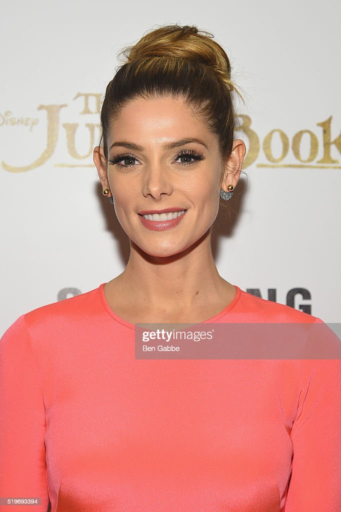 Actress <a gi-track='captionPersonalityLinkClicked' href=/galleries/search?phrase=Ashley+Greene&family=editorial&specificpeople=781552 ng-click='$event.stopPropagation()'>Ashley Greene</a> attends Disney with The Cinema Society & Samsung host a screening of 'The Jungle Book' at AMC Empire 25 theater on April 7, 2016 in New York City.