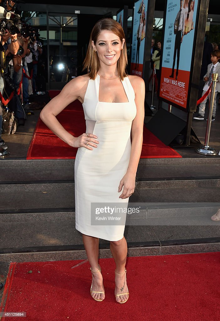 Actress Ashley Greene attends Focus Features' 'Wish I Was Here' premiere at DGA Theater on June 23 2014 in Los Angeles California