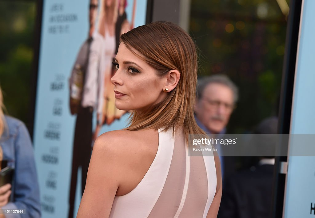 Actress Ashley Greene attends Focus Features' 'Wish I Was Here' premiere at DGA Theater on June 23, 2014 in Los Angeles, California.