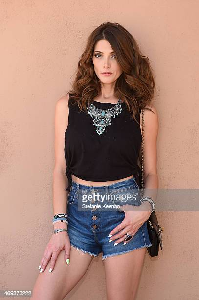 Actress Ashley Greene attends Forever 21 BBQ on April 11 2015 in La Quinta California