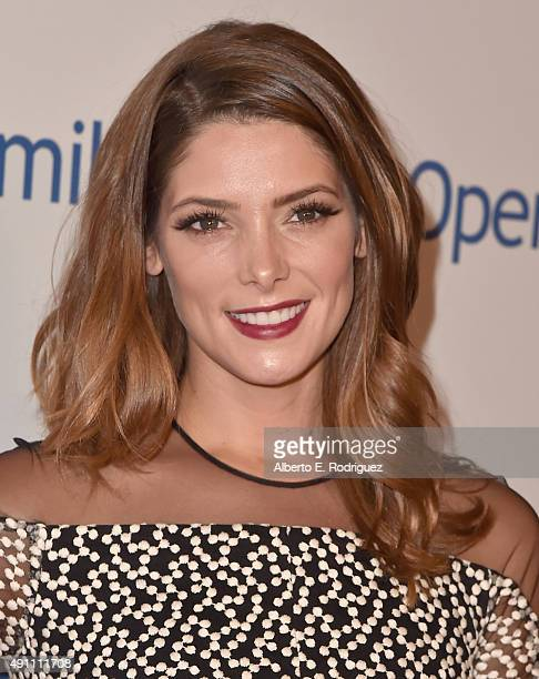 Actress Ashley Greene attends Operation Smile's 2015 Smile Gala at the Beverly Wilshire Four Seasons Hotel on October 2 2015 in Beverly Hills...