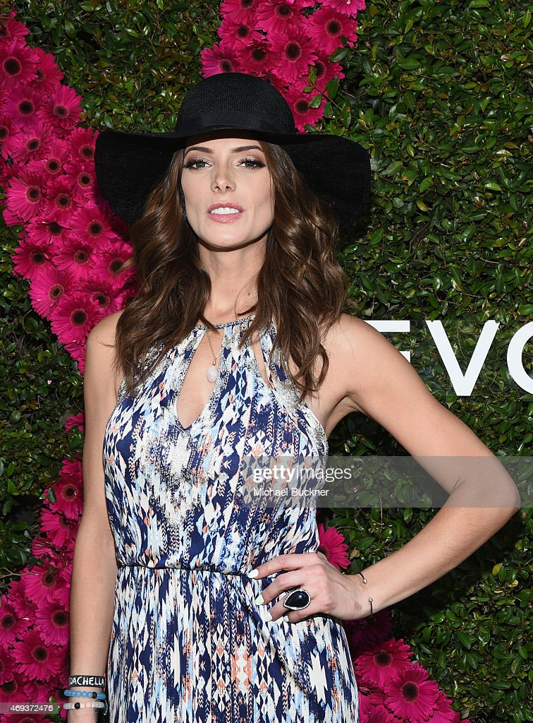 Actress Ashley Greene attends People StyleWatch REVOLVE Fashion and Festival Event at Avalon Palm Springs on April 11 2015 in Palm Springs California
