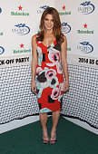 Actress Ashley Greene attends the 2014 Heineken US Open Kick Off Party at PHD Rooftop Lounge at Dream Downtown on August 21 2014 in New York City