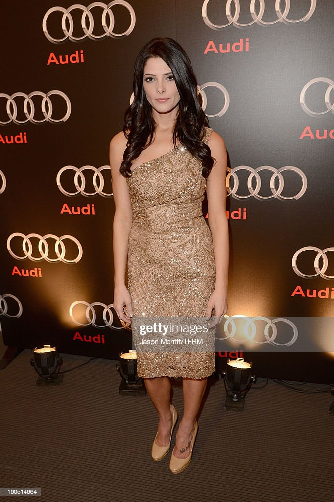 Actress <a gi-track='captionPersonalityLinkClicked' href=/galleries/search?phrase=Ashley+Greene&family=editorial&specificpeople=781552 ng-click='$event.stopPropagation()'>Ashley Greene</a> attends the Audi Forum New Orleans at the Ogden Museum of Southern Art on February 1, 2013 in New Orleans, Louisiana.