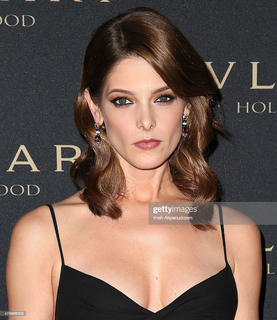 Actress Ashley Greene attends the BVLGARI 'Decades of Glamour' Oscar Party at Soho House on February 25, 2014 in West Hollywood, California.