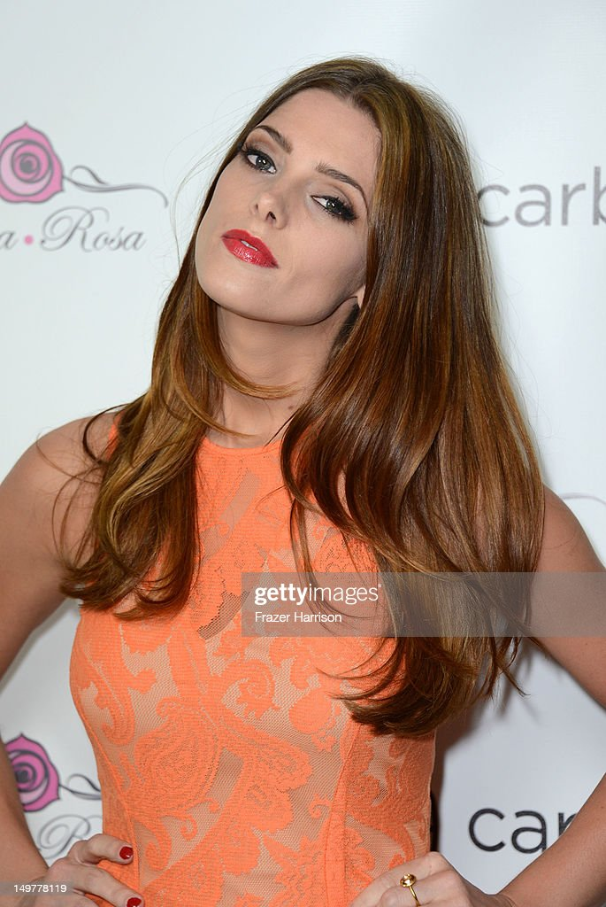 Actress <a gi-track='captionPersonalityLinkClicked' href=/galleries/search?phrase=Ashley+Greene&family=editorial&specificpeople=781552 ng-click='$event.stopPropagation()'>Ashley Greene</a> attends the Carbon Audio's Zooka Launch Party on August 3, 2012 in West Hollywood, California.