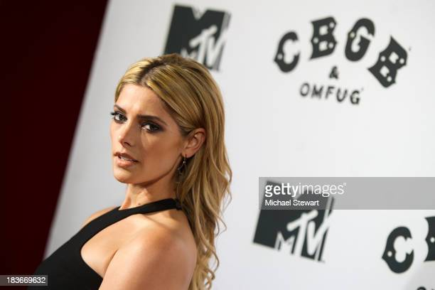 Actress Ashley Greene attends the 'CBGB' New York Premiere at Landmark's Sunshine Cinema on October 8 2013 in New York City