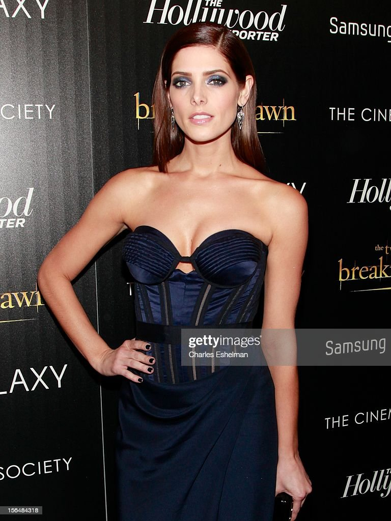 Actress Ashley Greene attends the Cinema Society with The Hollywood Reporter and Samsung Galaxy screening of 'The Twilight Saga: Breaking Dawn Part 2' at the Landmark Sunshine Cinema on November 15, 2012 in New York City.
