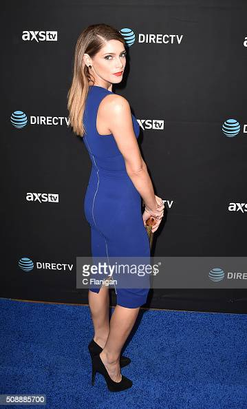 Actress Ashley Greene attends the DirecTV Super Saturday Night at Pier 70 on February 6 2016 in San Francisco California